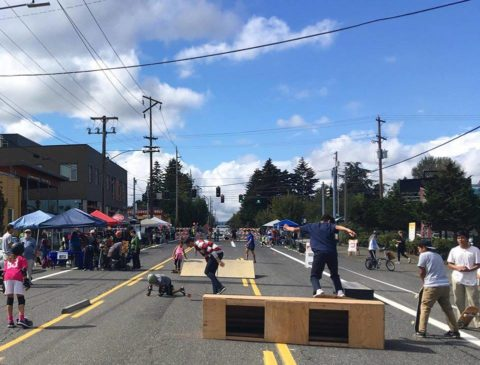 Image of Cully Camina Open Streets Event